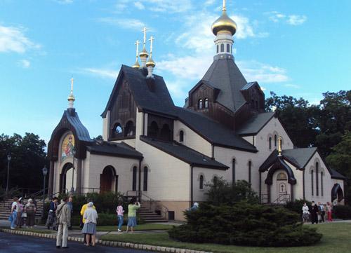 Храм-памятник св. Владимира в г. Джексон