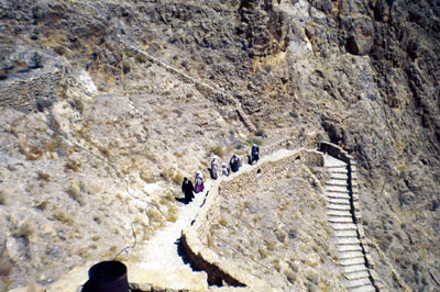 Подъем в монастырь Маар Мусса (св.Моисея)